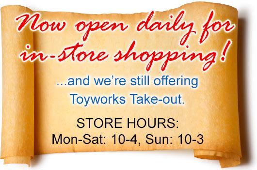 best toy store Sebastopol, California